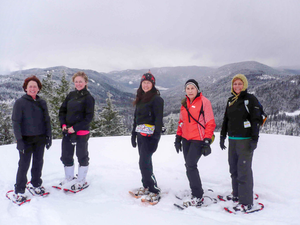 Wear to what snowshoeing grouse