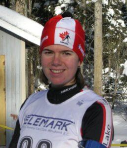 Danica on the Biathlon Canada U20 National Development Team